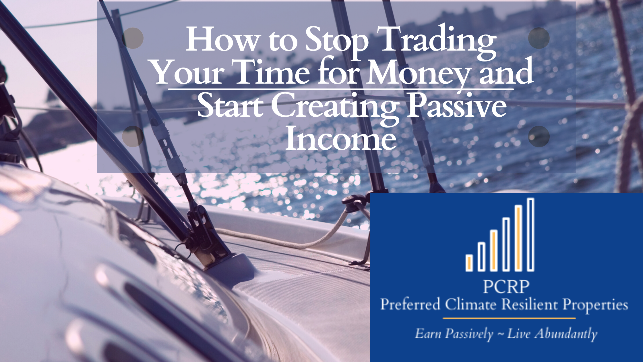 How to Stop Trading Time for Money